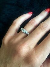 Stunning engagement ring fit for a princess Highton Geelong City Preview