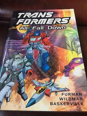 Transformers: All fall down by Simon Furman|Andrew Wildman|Stephen Baskerville