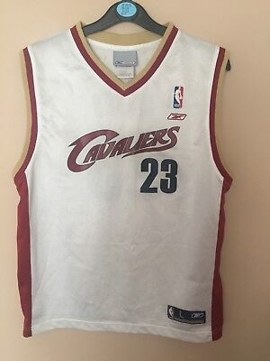 Cleveland Cavaliers NBA Jersey #23 LeBron James   Reebok *Size Large 14-16