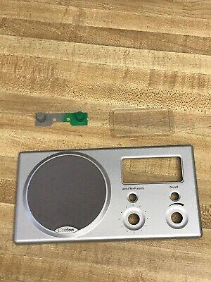 Original Face plate for Boston Acoustics RECEPTER RADIO AM FM Alarm Clock