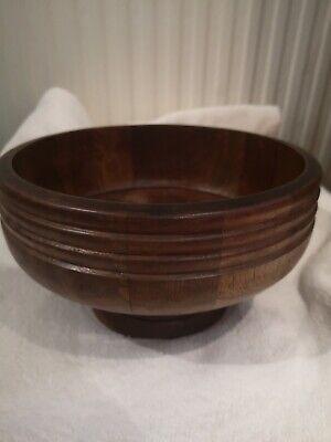 Genuine Walnut Fruit Bowl