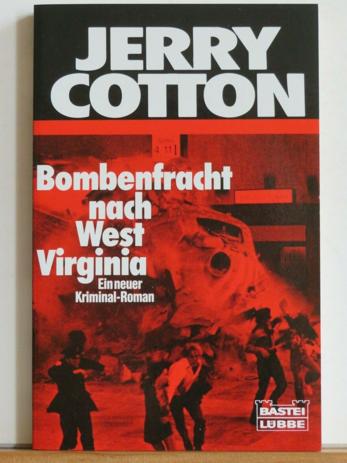 Jerry Cotton - Bombenfracht nach West Virginia - Ein neuer Kriminalroman