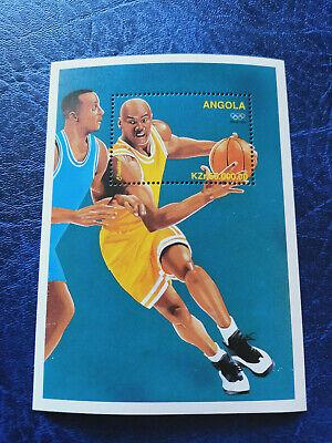 Angola 1996 Olympic Games Atlanta Mini Sheet MNH