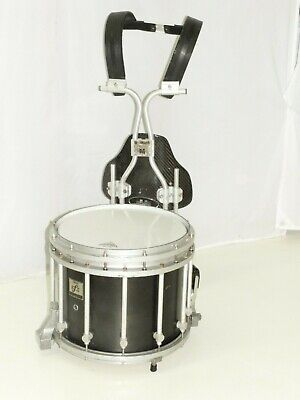 """Yamaha 14"""" SFZ Marching Band Snare Drum with Carrier Black Forest"""