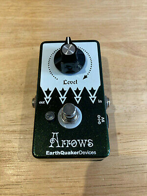 EarthQuaker Devices Arrows Preamp Booster Guitar Effects Pedal. Free P&P.