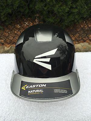 Easton Natural 2Tone Batting Senior Helmet 6 7/8- 7 5/8 - Blk/Silver BRAND NEW