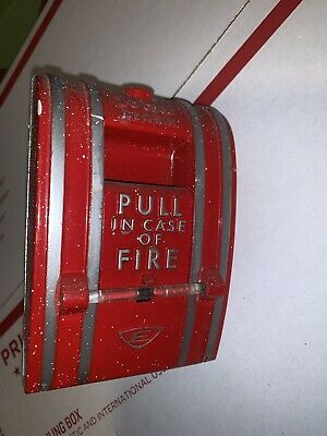 Vintage Edwards Signaling 270-spo Fire Alarm Pull Station Single Action