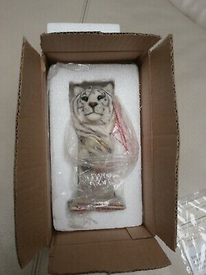 Mill Creek Studios Whiteoot 3822 White Tiger Statue Sculpture Stephen Herrero