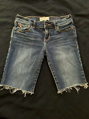 ABERCROMBIE KIDS Jean Shorts Girls Size 14