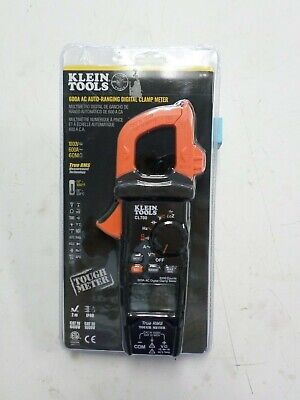 Klein Tools Cl700 600a 1000v Ac True Rms Auto-ranging Digital Clamp Meter New