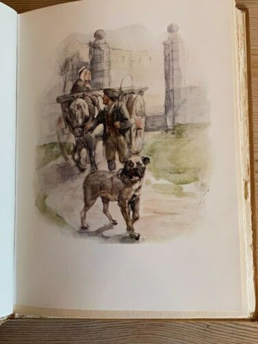 "RARE BULLMASTIFF DOG STORY BOOK ""RAB AND HIS FRIENDS"" BY JOHN BROWN MD 1929"