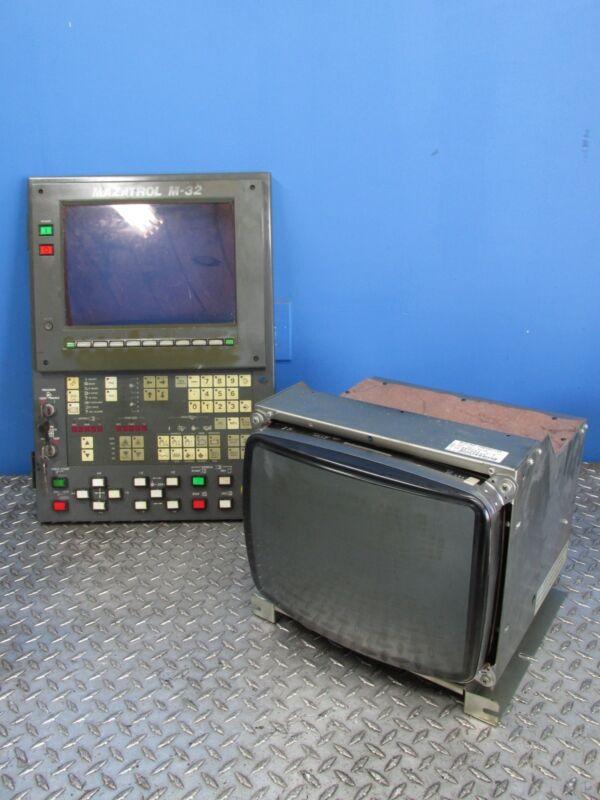 MAZAK MAZATROL M-32 CNC OPERATOR INTERFACE CONTROL PANEL (A03)