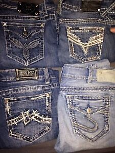 Women's designer jeans Like-new 120 for all 30 a peice