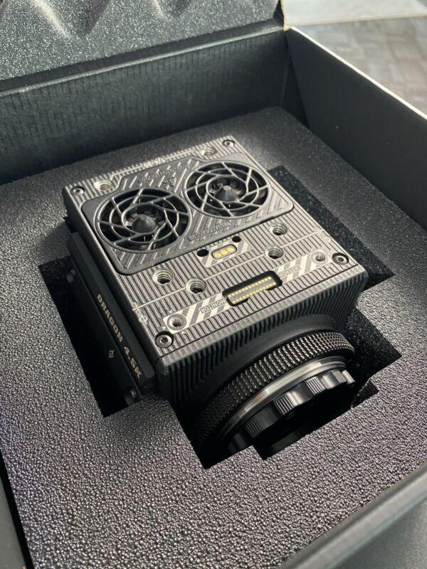 RED RAVEN 4.5k DSMC2 EF Mount Digital Cinema Camera (Body Only)