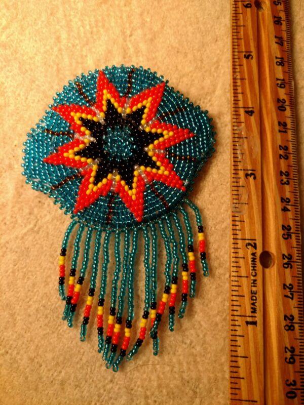 Native American Styled Beaded Hair Barrett