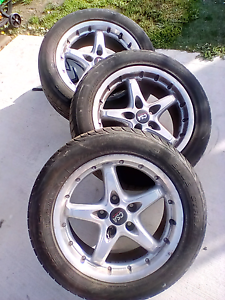 3 X 16.5inch CSA alloy rims with tyres O'Connor North Canberra Preview