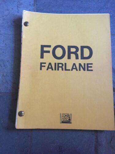 THE ADVENTURES OF FORD FAIRLANE MOVIE SCRIPT ORIGINAL ANDREW DICE CLAY - RARE!