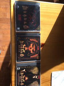 Diablo, Diablo 2 and Diablo 2 Expansion pack