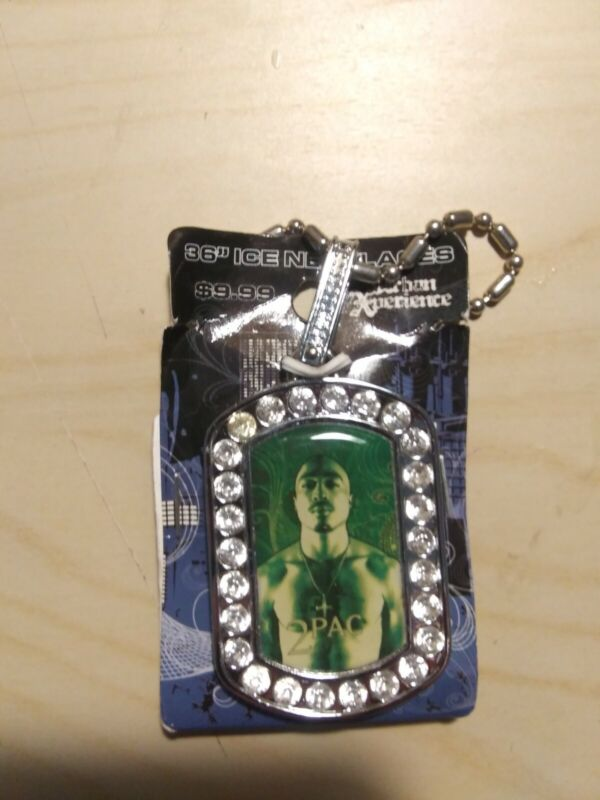 2Pac Tupac Shakur Bling Necklace 2007 Hip Hop Legend
