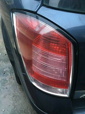 Left Rear Lamp Smoked Indicator Estate // Van for Opel ASTRA F Estate 1994-1998