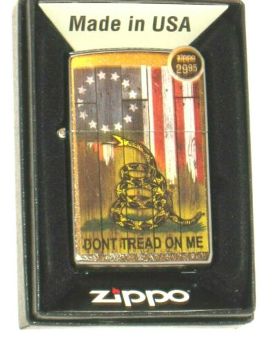 New ZIPPO Windproof Lighter 80901 Don