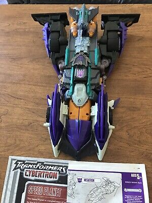 Transformers Cybertron Megatron Leader Class Figure Sound Work Missing 1 Missile