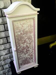 """""""Pink n White Cupboard"""" 750mm High """"Hand Painted"""" Sylvania Sutherland Area Preview"""