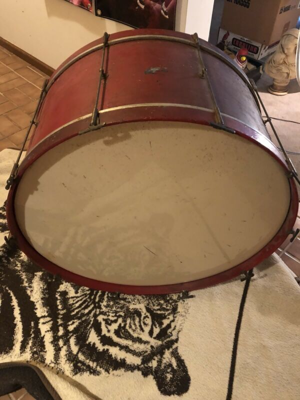 Leedy Reliance Bass Drum - Vintage  1920's/30's Extremely Rare 16.75-30