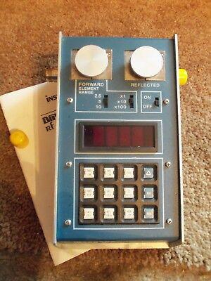 Bird 43 4381 Thruline Watt Meter PEP-Dual Element, Power Analyst SO239 UHF