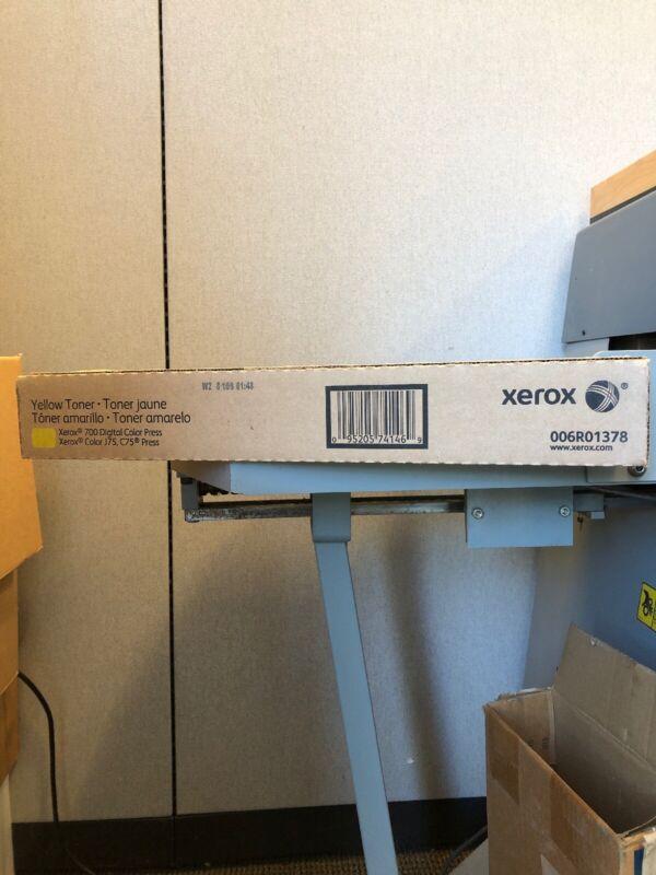 Genuine Xerox 700 / C75 Yellow toner 6R01378 -new in a box