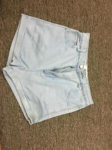 Denim shorts size 10 Camp Creek Inverell Area Preview