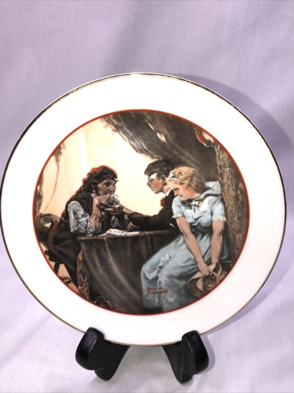 CW Collection Special Edition Commemorative Plate Norman Rockwell Young Love