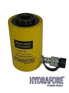 20 ton Hub 50 mm Hohlzylinder Hydraulikzylinder HohlkolbenZylinder Kolbenweg 20t