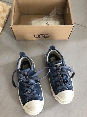 eaker Boots Wildleder Blau Gr. 27 (Uggs Schuhe Kinder)