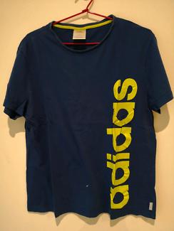 Adidas blue t-shirt