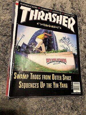 Thrasher Skateboard Magazine September 1995 John Cardiel Antihero Moses Itkonen