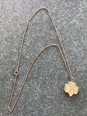60s -70s Jewelry – Necklaces, Earrings, Rings, Bracelets Vintage Girl Scout Locket 1960's Necklace Gold Tone Logo $15.00 AT vintagedancer.com