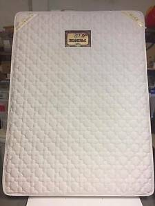 Queen size mattress PLUS wooden bed frame Hornsby Hornsby Area Preview