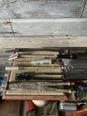 Vintage Veterinary Tools Collectibles Vererinarian