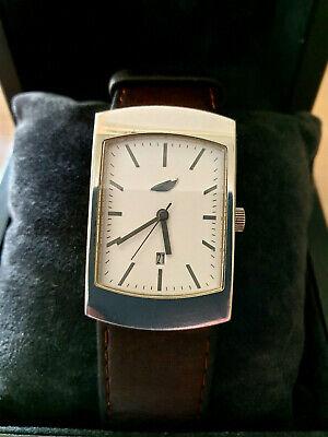 Mercedes-Benz Design Edition S, Original, Armbanduhr, Edelstahl, Leder gebraucht kaufen  Überlingen