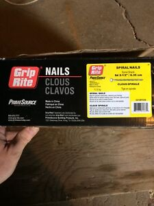 Box of nails for sale