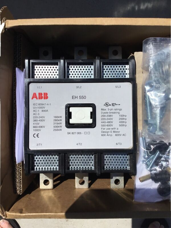 ABB CONTACTOR Switch. EH-550  30-22   220V 3 Pole