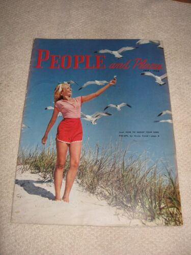 People and Places Chrysler Owner  Magazine July 1954 - DeSotos!