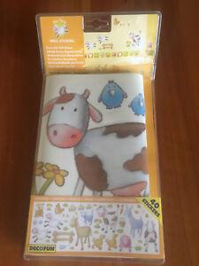 Removable Wall Stickers: Nursery Decoration : The Farm BNIB