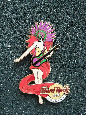 Hot Mardi Gras Girls (Hard Rock Cafe Pins - ORLANDO HOT & RARE 2004 MARDI GRAS GIRL)
