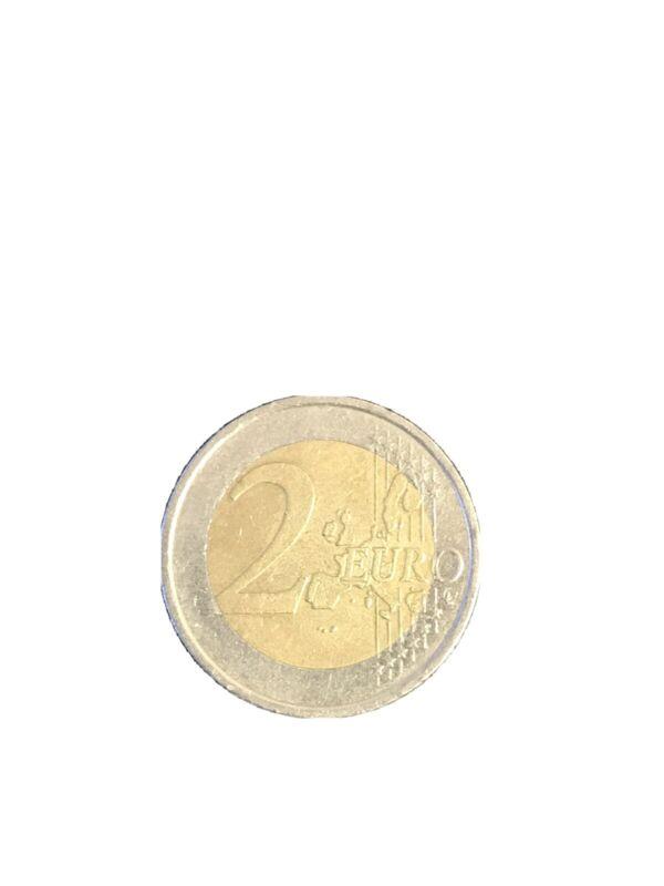 One (1) Euro 2 Coin