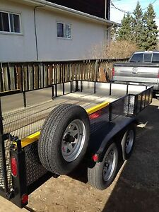Custom built 14 ft trailer HD