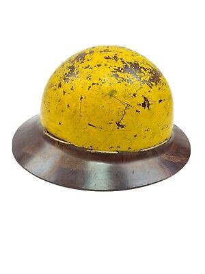 Vtg Msa Skullgard Miners - Fireman Safety Helmet Hard Hat Needs Reconditioning