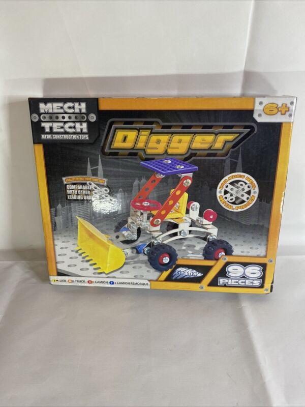 Mech+Tech+Construction+Toys.+Digger.+NIb.+