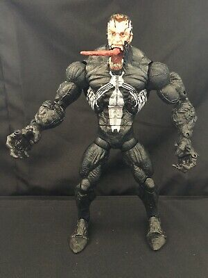 "Marvel Legends Icons Venom 12"" Toybiz 2006 Unmasked Variant Loose"